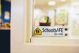 SchoolSAFE Certified sticker